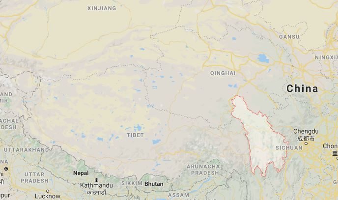 Chinese paramilitary police besiege Tibetan town after independence protest incidents