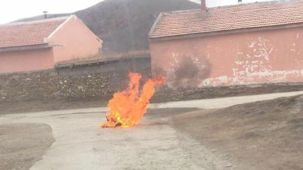 Youth reported to have protest-self-immolated in Chinese ruled Tibet