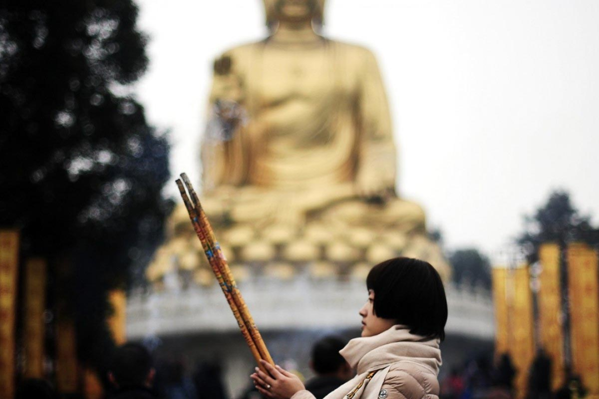 Tibetan Buddhism being purged in China's Hebei Province