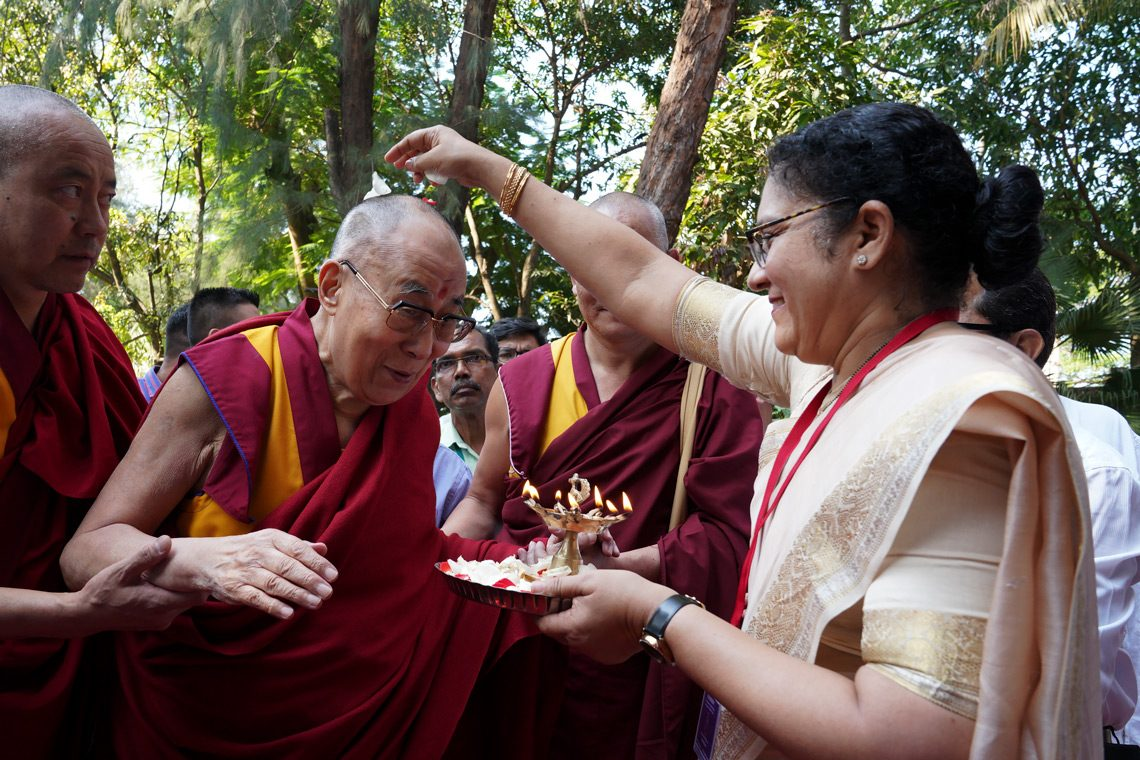 Dalai Lama on series of religious and other events beginning from Goa