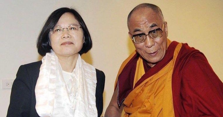 Dalai Lama congratulates Taiwan president's re-election as China condemns other countries for doing so