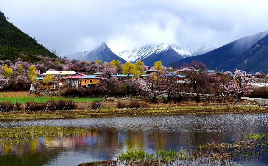 China to build 30 border towns in Tibet this year