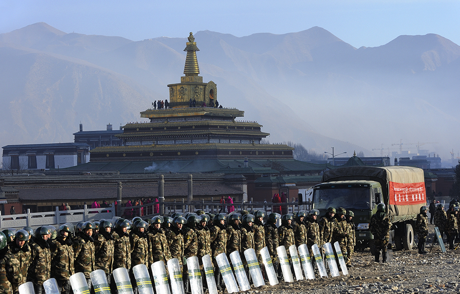 China claims religious repression ensured economic prosperity in Tibet, Xinjiang