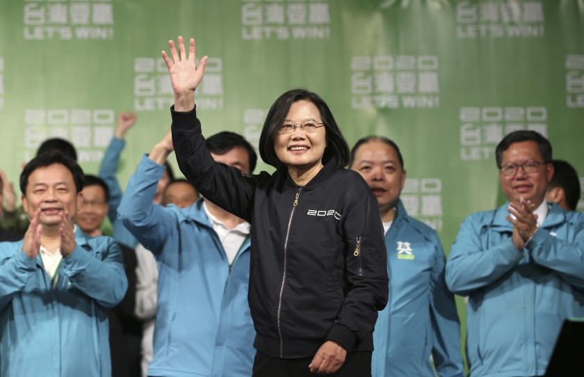 Over 60 countries congratulated Taiwanese president on re-election