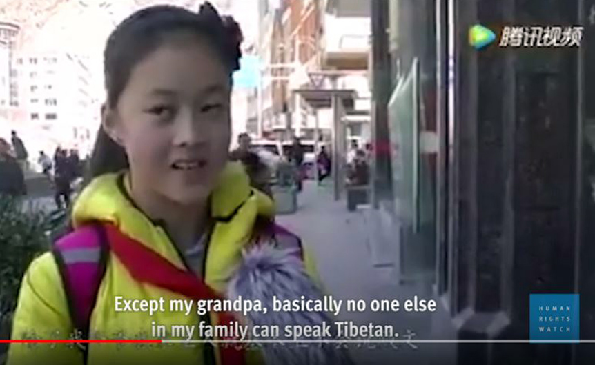 Rights group condemns China for denying mother-tongue education to Tibetan Children