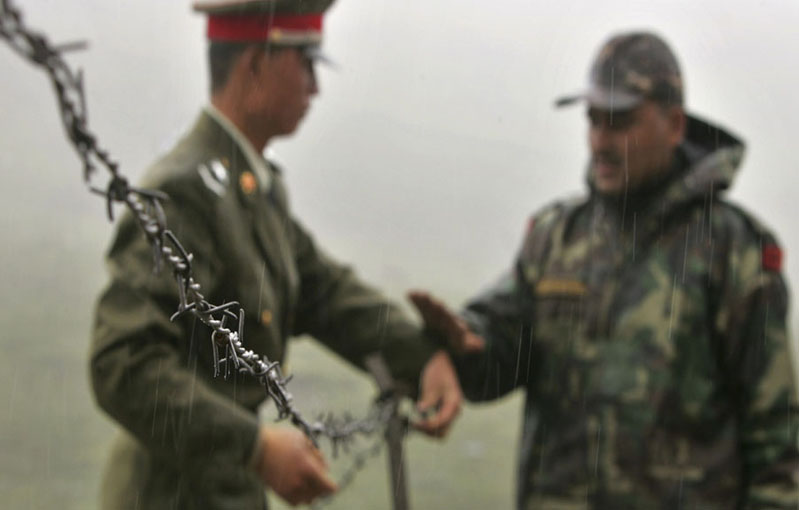 Several injured in brawl between Indian and Chinese border troops in north Sikkim
