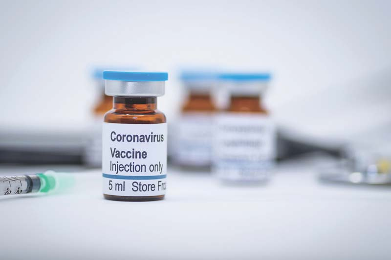 India to get vaccine against Covid-19 for frontline healthcare workers 'very soon'