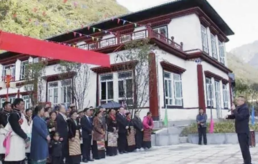 Indian Media report questions Bhutan's denial that China had built a village in its territory