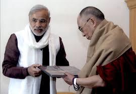 Dalai Lama congratulates India's new government-elect