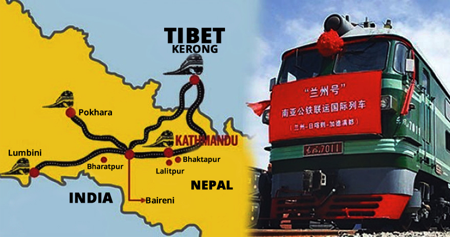 China reportedly reviving $300 million Tibet-Nepal rail project
