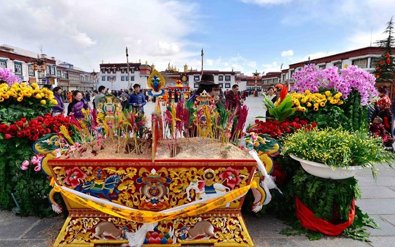 Citing Covid-19 fears, China has banned Tibetan New Year gatherings but resumed work on major projects