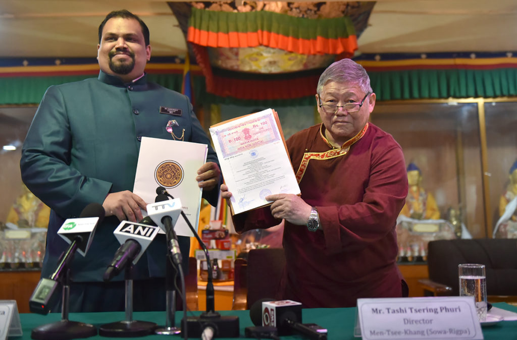 Exile Tibetan Medicine institute to run courses at university in Manipur state
