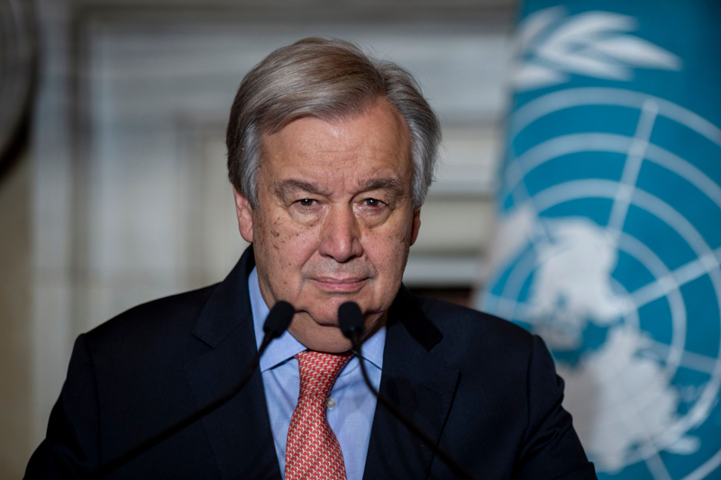 Covid-19: Pandemic a threat to the whole of humanity – UN chief