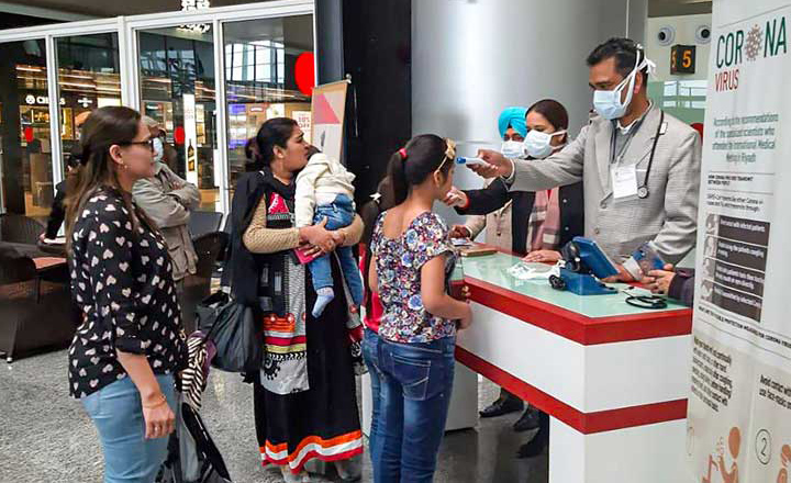 India reports 30 confirmed Covid-19 cases as the coronavirus spreads to 75 countries