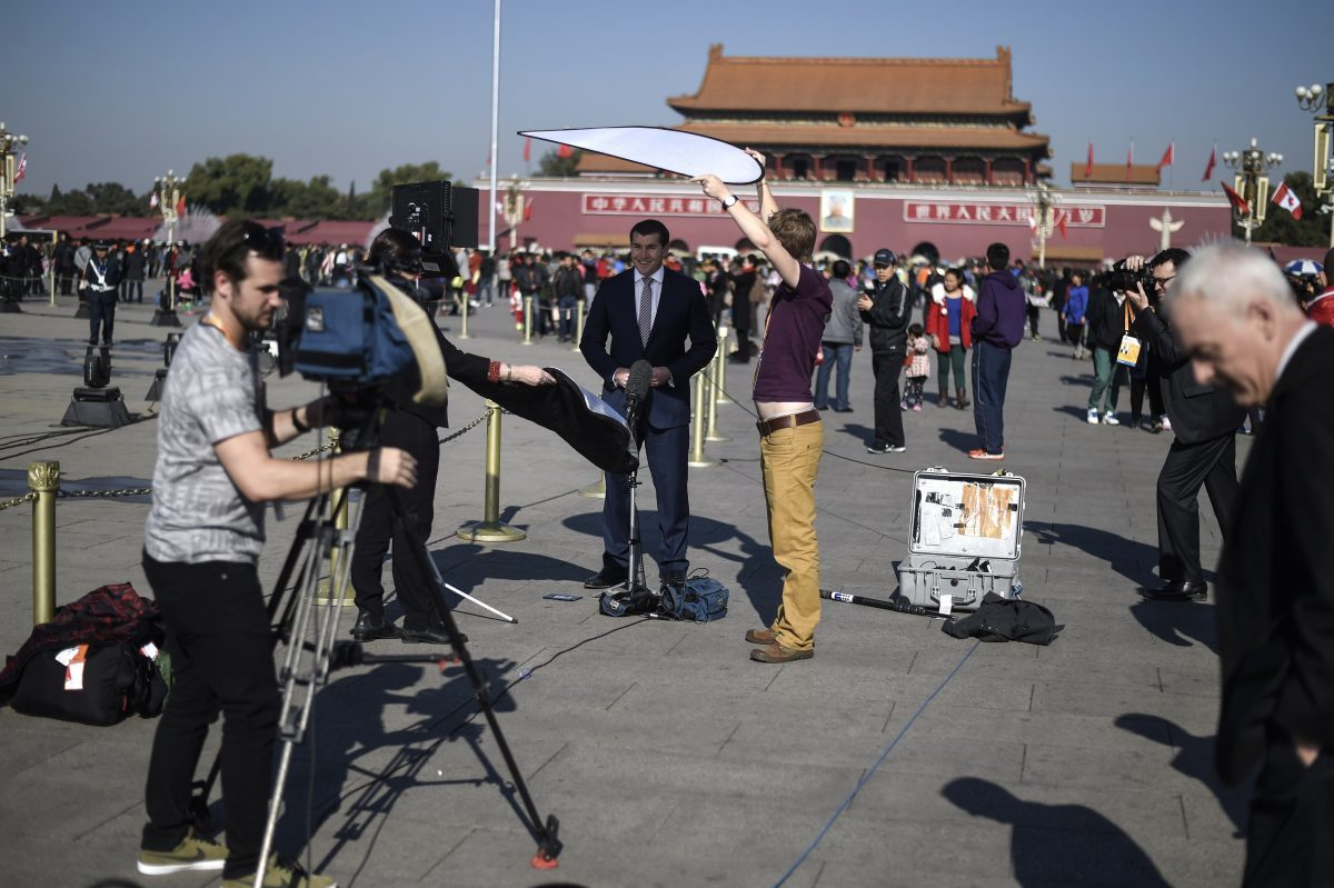China has stepped up visa threats to intimidate foreign reporters