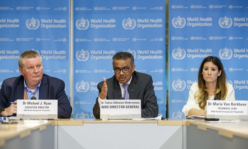WHO declares Covid-19 global pandemic, urges gov'ts to scale up responses