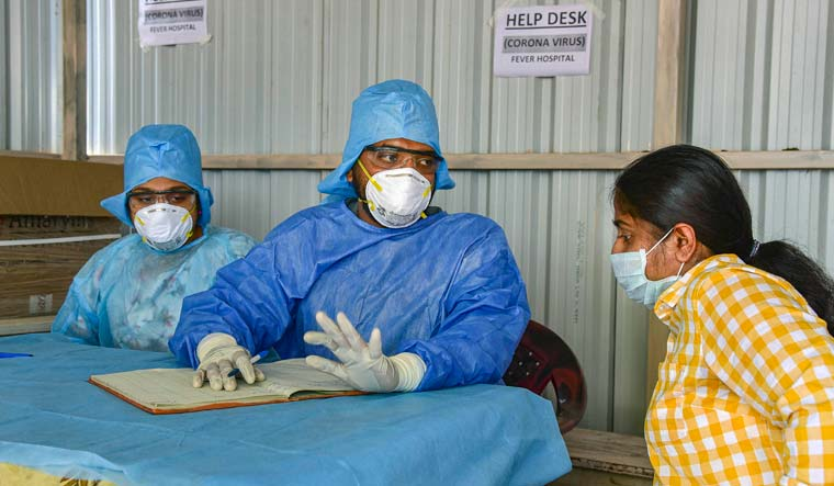 India's daily Covid-19 cases cross 6,000 first time