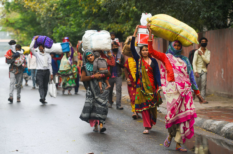Migrant workers' return sharply increases Covid-19 cases in Indian states