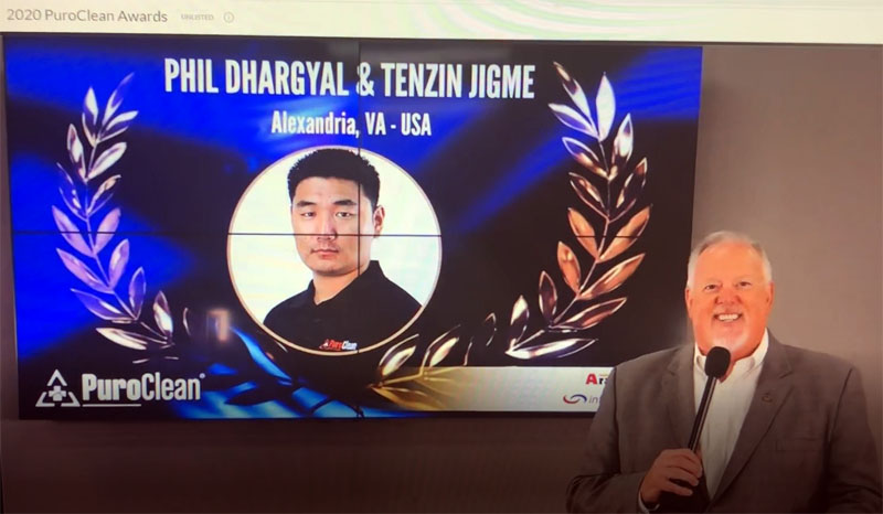 Tibetan American Entrepreneurs Bagged Rookie of the Year Award from a top US Company