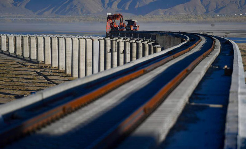 China reports completion of all 120 bridges, 47 tunnels on new strategic railway in occupied Tibet