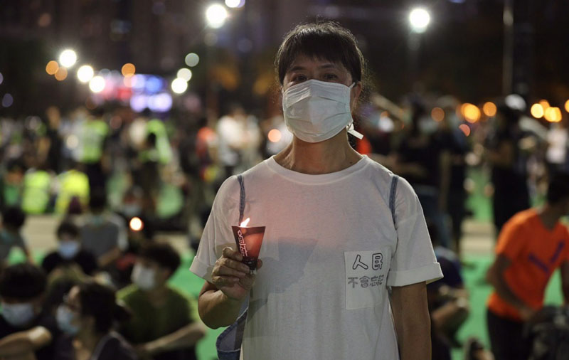 Thousands in Hong Kong defied ban to mark 31st Tiananmen Square massacre anniversary