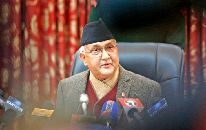 Nepal's opposition asks China-beholden Prime Minister to recover lost territory