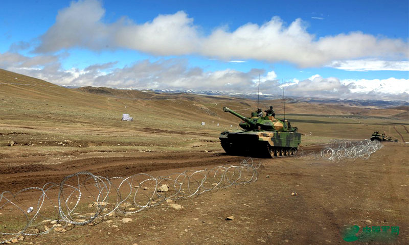 China says its 'unrivalled' lightweight and main battle tanks held series of drills in Tibet