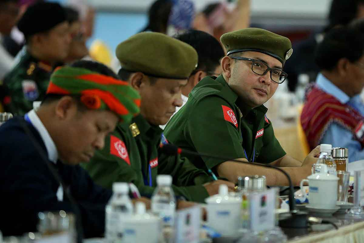 China seen as trying to control Myanmar by arming insurgents
