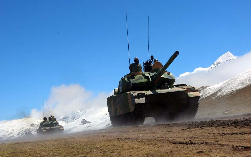 China holds day-and-night artillery exercises in Tibet as Ladakh border dispute simmers