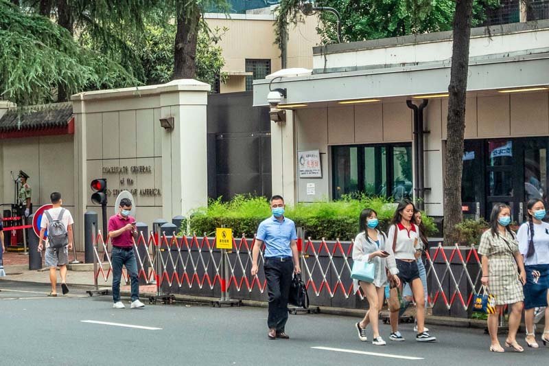 Tibet seen as reason for China's retaliatory order to close the US Consulate in Chengdu