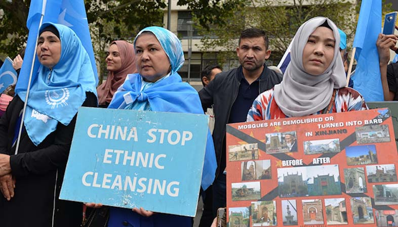 China considering suing its Xinjiang repression exposers for libel, but where?