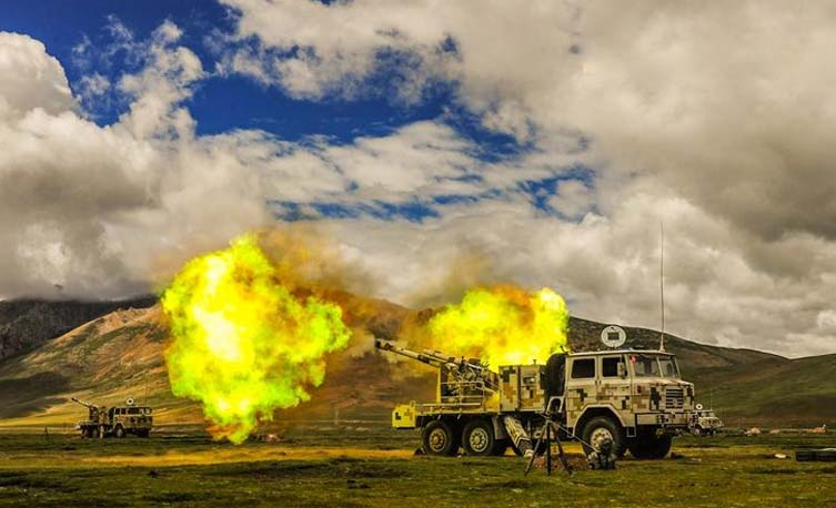 China reports holding a series of more live-fire drills in occupied Tibet
