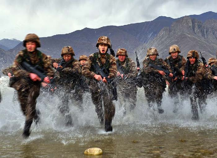 Thousands in Tibet reported to have signed for recruitment into Chinese army