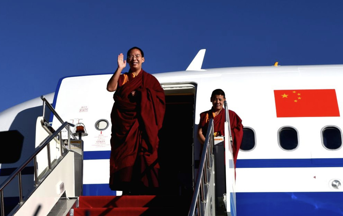 China's Panchen concludes second leg of Tibet visit