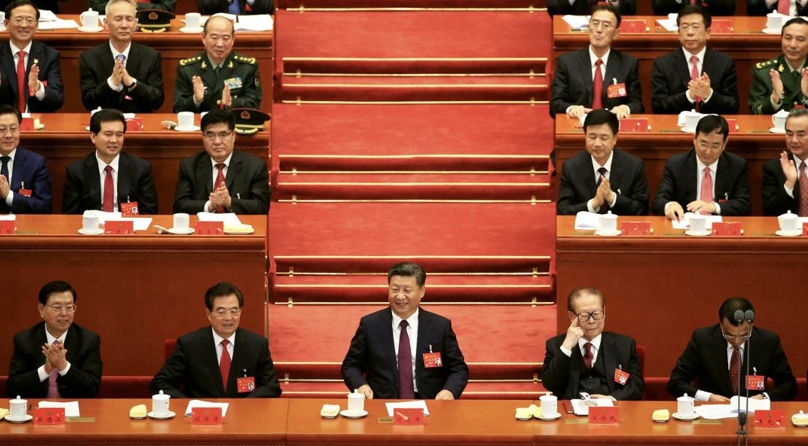 Not even internal democracy in Communist Party of China?