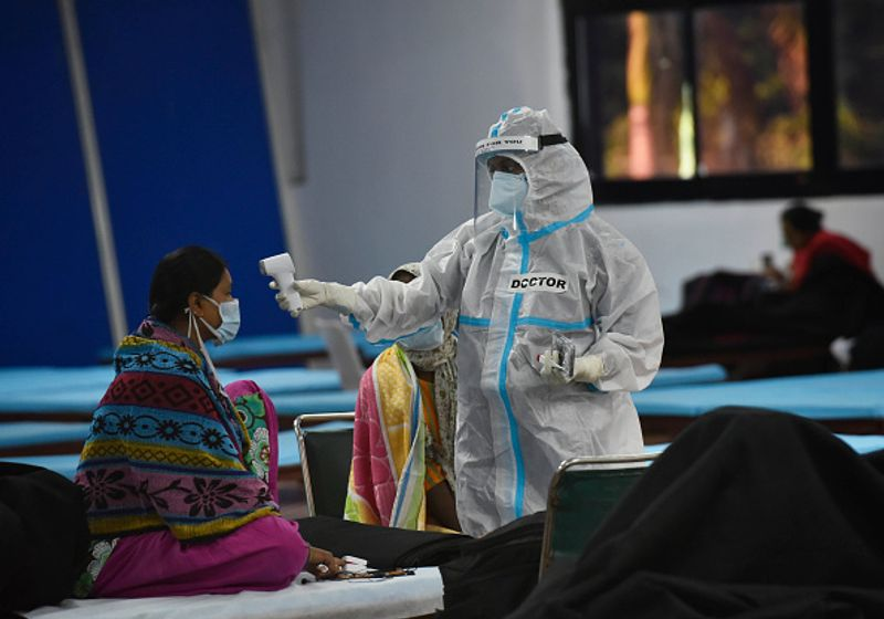Did Covid-19 outbreak in India peak in September?