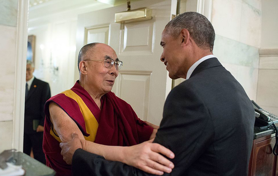 China condemns exile Tibetan administration head's white House visit, but sees it as less damaging than those of the Dalai Lama